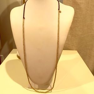Madewell Gold Beaded Necklace